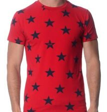 moschino mens T Shirt Red  Pit To Pit 21 Size L