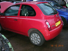 Nissan Micra K12  Rear light; N/ S MORE USED PARTS IN OUR SHOP