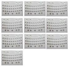 LOT 10 PCS NEW KEYPAD KEYBOARD MEMBRANE STICKER FOR BLACKBERRY BOLD 9700 9780