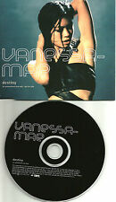 VANESSA MAE Destiny w/ RARE RADIO MIX UK PROMO DJ CD single 2001 MINT USA Seller