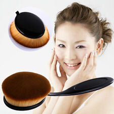 Pro Fashion Toothbrush Shaped Foundation Powder Makeup Oval Cream Puff Brushes