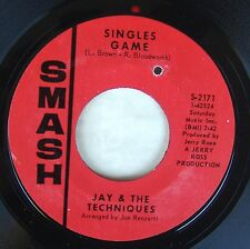 """Jay & Techniques - Singles Game / Baby How Easy Your Heart 7"""" 45 Smash"""
