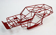 AXIAL WRAITH 2.2 All Metal FRAME BODY CAGE RC Rock Racer w/ Metal Sheets RED