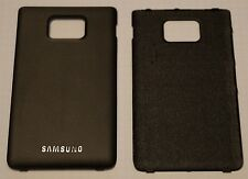 Original gt-i9100 Galaxy s2 II Tapa batería, Battery cover, negro, noble Black
