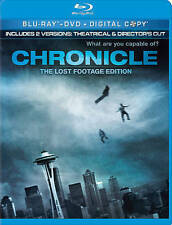 Chronicle (2012, Blu-ray + DVD, LOST FOOTAGE EDITION) NO DIGITAL INCLUDED