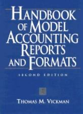 Handbook of Model Accounting Reports and Formats-ExLibrary