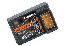 BRAND NEW FUTABA R614FF-E R614FF 4CH 2.4GHz FASST RC BUGGY RX RECEIVER FUTL7632