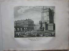 1819 CHÂTEAU DE VINCENNES Denkbuch Révolution française rivoluzione francese