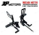 CNC Racing Rear Sets Footrest For Suzuki GSX-R750 K1 K2 K3 K4 K5 2000-2005 Black