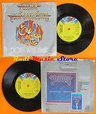 LP 45 7'' ELO ELECTRIC LIGHT ORCHESTRA Don't walk away Across border cd mc dvd