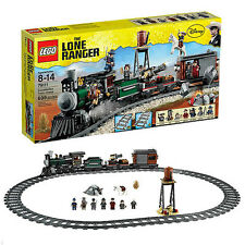 Lego Lone Ranger New Sealed Set 79111 Western Train Complete Minifigs Track +