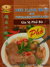 BEEF FLAVOR BROTH FOR INSTANT VIETNAMESE SPECIAL RICE NOODLE SOUP GIA VI PHO BO