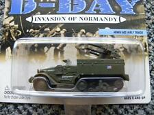 WWII M-16 HALF TRACK      2002 JOHNNY LIGHTNING D-DAY INVASION OF NORMANDY  1:64
