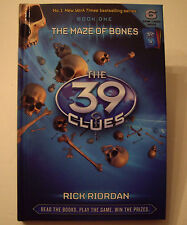 The 39 Clues: The Maze of Bones - Book 1 by Rick Riordan (Hardcover 2008)
