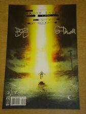 GROOM LAKE #1 VARIANT DOUBLE SIGNED EDITION IDW CHRIS RYALL BEN TEMPLESMITH