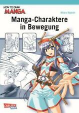 Manga-Charaktere in Bewegung Action-Posen zeichnen 2915