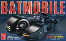 AMT 1:25 1989 Batmobile Plastic Model Kit AMT935