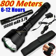 800meter 2000lumen TACTICAL CREE Q5 LED 18650 Rechargeable Flashlight + Holster