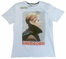 Amplified Official David Bowie Cool rock star vintage Cult vip t-shirt G.M 48