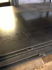 """4130 - ANN CHROM MOLY STEEL SHEET / PLATE - .120"""" x 12"""" x 36"""""""