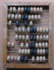 New listing Abacus Wooden Counting Russian Vintage Soviet Wood Old Accountant Kid Child 2