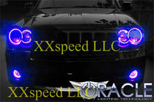 ORACLE Jeep Grand Cherokee 2005-2010 BLUE LED Headlight Halo Angel Eyes Kit