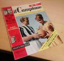 IL CAMPIONE n.3 1955 boniperti anna maria ferrero fausto coppi felice borel