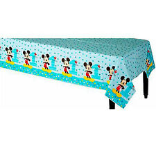 MICKEY MOUSE Fun to Be One PLASTIC TABLE COVER ~ Birthday Party Supplies Cloth
