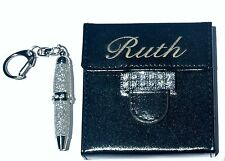 Engraved Personalized Embellished Notepad Case Cover /w Matching Pen & Note Pad