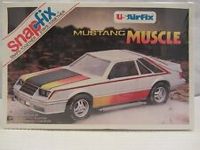 US Airfix   Mustang Muscle NIB Factory Sealed  1:24 Scale  (615H) 8049