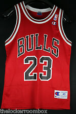 NEU Champion Michael Jordan Gr SZ 40 M Bulls NBA Trikot Air Basketball Jersey