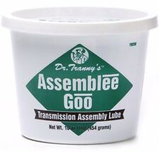 Transmission Rebuild Assembly Lube Grease | DR TRANNY GREEN | Firm Style Goo Gel