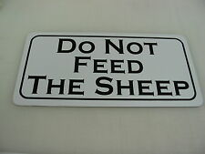 DO NOT FEED THE SHEEP Sign for Golf Course, Farm, Country Club or Driving Range