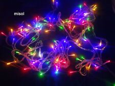 Waterproof 10M 100 LED Christmas string light bulbs RGB mixed color 220v AU plug