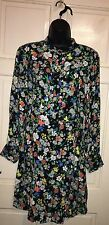 TOPSHOP RETRO FLORAL DOLL DRESS UK SIZE 8 EUR 36 US 4