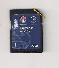 OPEL SD  NAVI 600 / 900 EUROPA 2014  OPEL ASTRA J INSIGNIA MERIVA ZAFIRA C MOKKA
