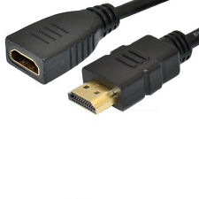 30cm premium HDMI 1.4V male to female extension cable leads Gold Plated1080P