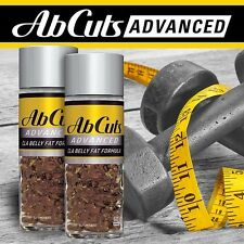 Ab Cuts CLA Belly Fat Formula  Flaxseed Fish Oil 120 ct  2X Concentrated Abcuts