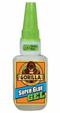 Gorilla Glue Super Glue Gel 15g - Ideal for Metal, Wood, Ceramic, Paper, Rubber