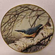 Nuthatch Wedgwood Spink Centenary RSPB Plate