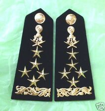 CAMBODIA _FIELD_MARSHAL_SHOULDER_BOARD_RANK_EPAULETTE_GENERAL_ADMIRAL_CAMBODGE