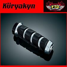 Kuryakyn Chrome Kinetic™ Grips for Kawasaki, Suzuki & Yamaha Models 6375