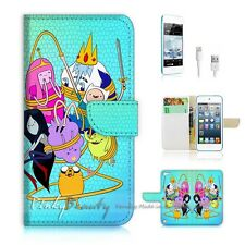 iPod Touch 5 iTouch 5 Flip Wallet Case Cover! P0987 Adventure Time