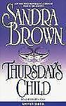Thursday's Child (3 Cassette Set) Sandra Brown (Audiobook)