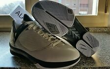 Nike Air Jordan 2009 white metallic silver black size us 10.5