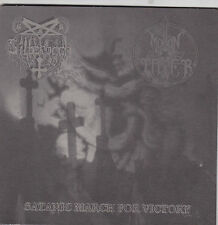Silberbach /  Moontower  ‎– Satanic March For Victory  7""