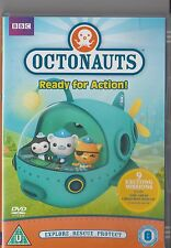 OCTONAUTS READY FOR ACTION DVD KIDS 9 EPISODES INCLUDES XMAS EPISODES