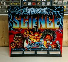 Strange science pinball machine backglass brand new reverse direct UV printed