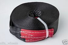 "2"" 4TON Tow Strap 18 meters winch off-road snatch vehicle recovery free shipping"