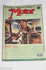 The Motor Magazine WW2 Issue 1943 February 3rd: Raymond Mays ERA/Road Building